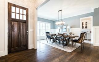 entryway - formal dining room