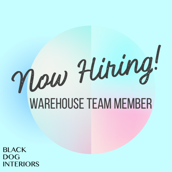 Black Dog Interiors Now Hiring Roswell GA