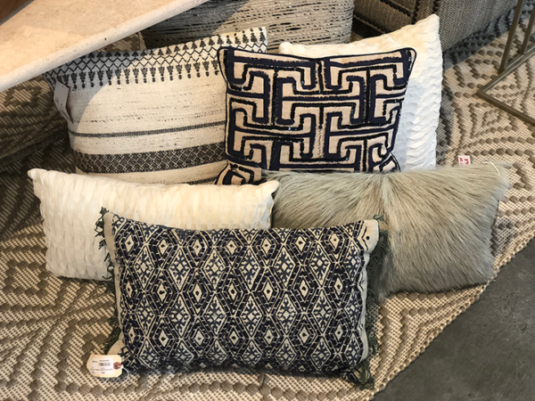 pillow, lamp and throw sale Black Dog Interiors Roswell GA