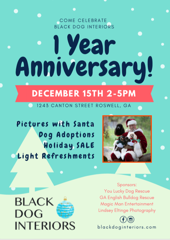 Black Dog Interiors 1 Year Anniversary Party