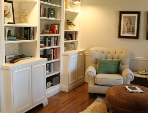 BEFORE & AFTER: Taking this Alpharetta family's study to the next level