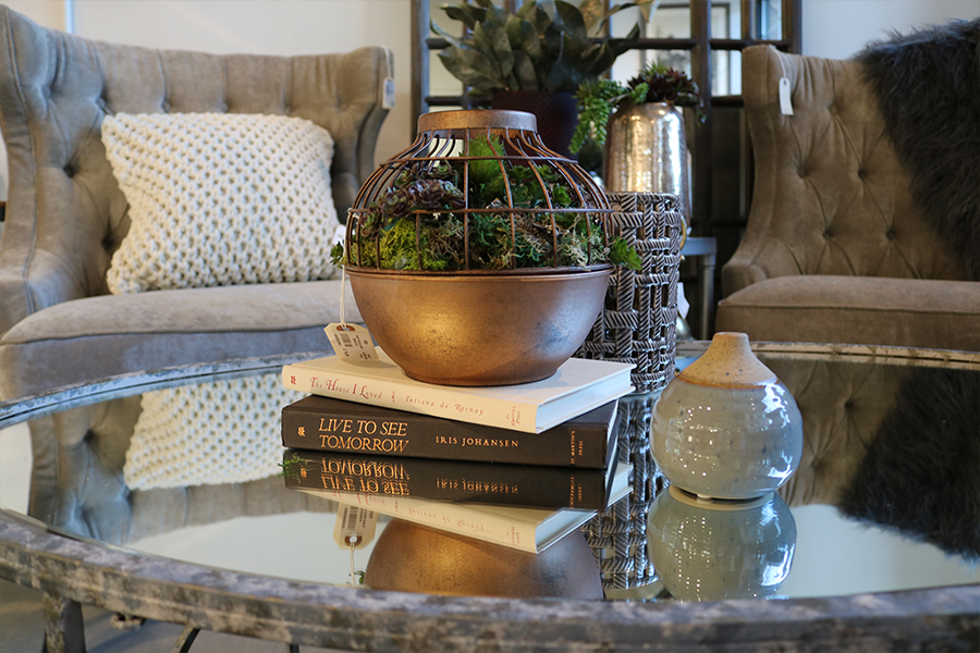 coffee tables 30% off & vases 40% off