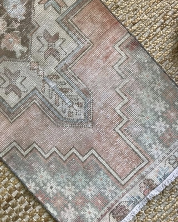 Dogwood Loom Vintage Rug at Black Dog Interiors
